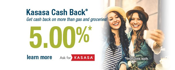 Kasasa Cash Back Checking Account