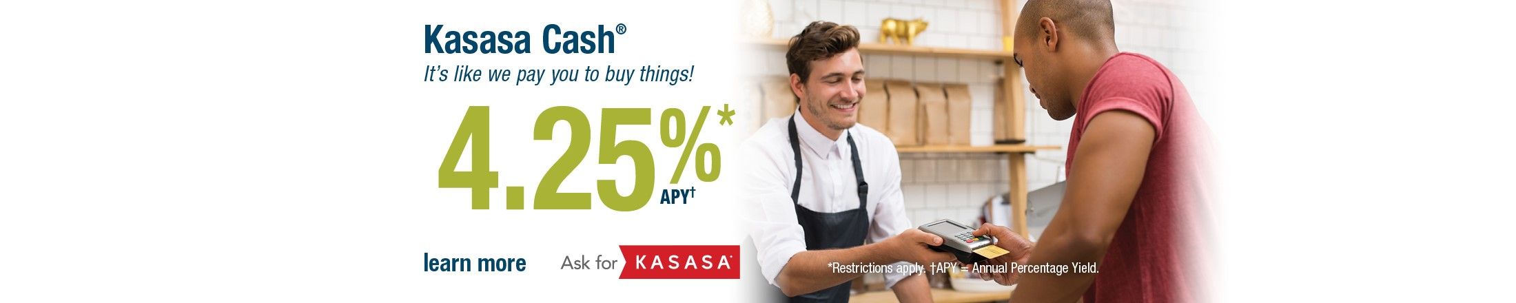 Kasasa Cash Checking Account