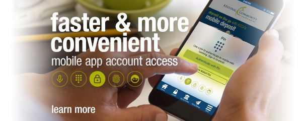 Faster and more convenient mobile app log in options