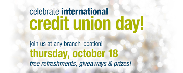 Credit Union Day October 18
