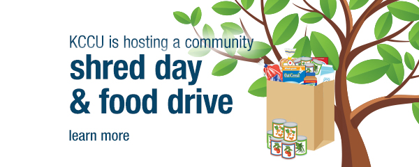 shred Day Food Drive September 29