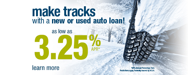 Auto Loan Rate 3.25 annual percentage rate