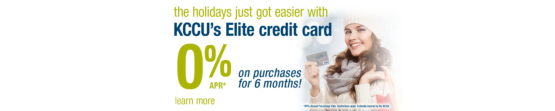 KCCU Elite Card Promotion