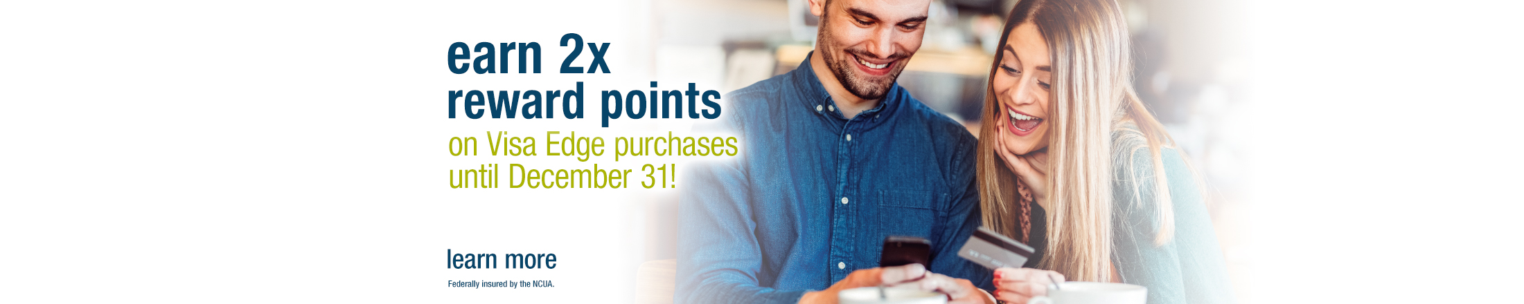 Visa Edge Double Points promotion