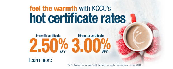 Winter Certificate Specials